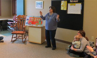 Storytime at NBPL