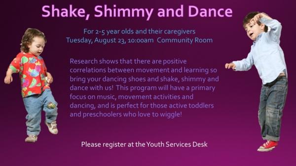 Shake, Shimmy, and Dance